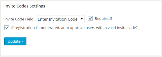 After You Ve Identified Your Invite Code Field Ll Want To Add Some Codes Can Do This In The Section Create New