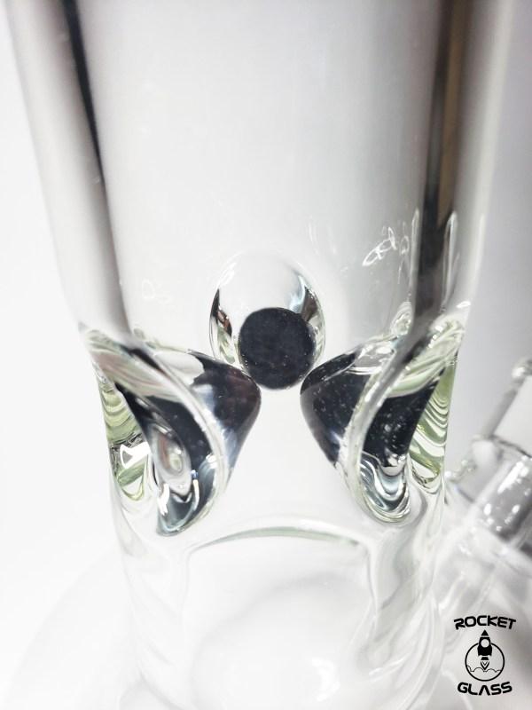Bubble Bong Rocket Glass 2