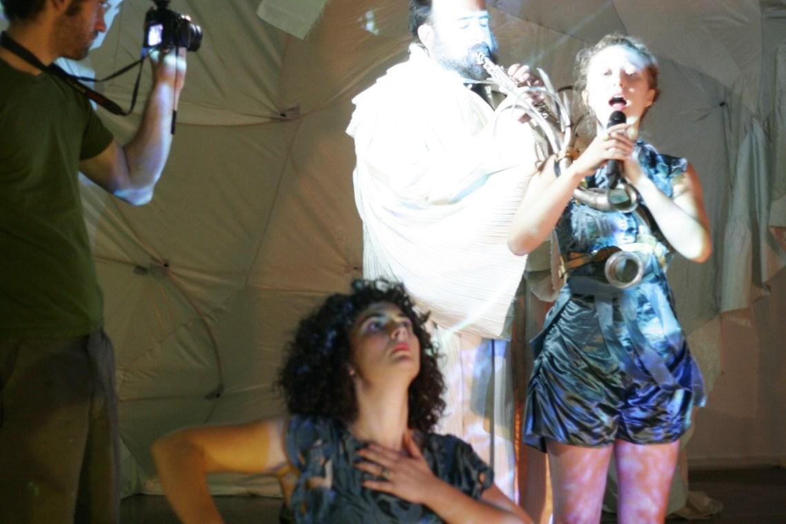 No More Nomads - Living Arts Tulsa - Horn Sculpture Duet