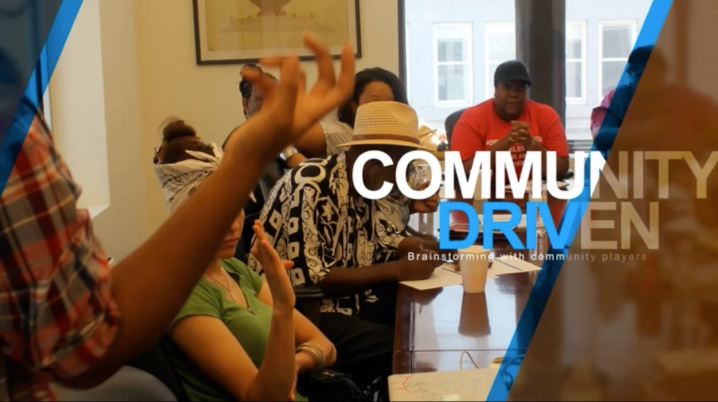 community-driven