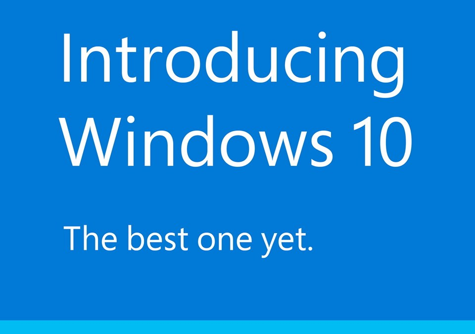Windows 10 upgrade special – was $79.99, now $65.00 for a limited time