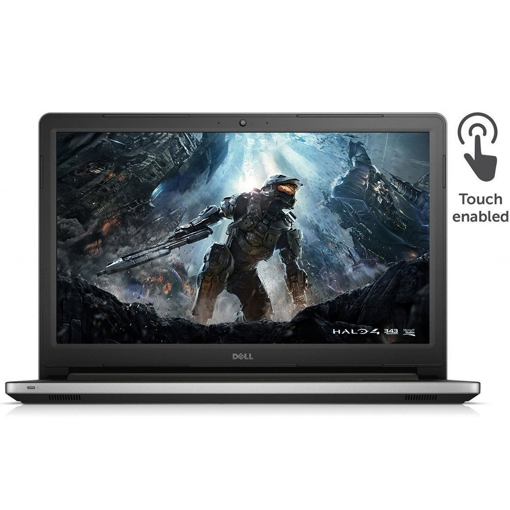 "Recommended gaming laptop!  Dell Inspiron 15.6"" Touchscreen Laptop PC Intel i7, 16GB RAM 240GB SSD, DVD, Backlit-keyboard, Windows 10-Silver"