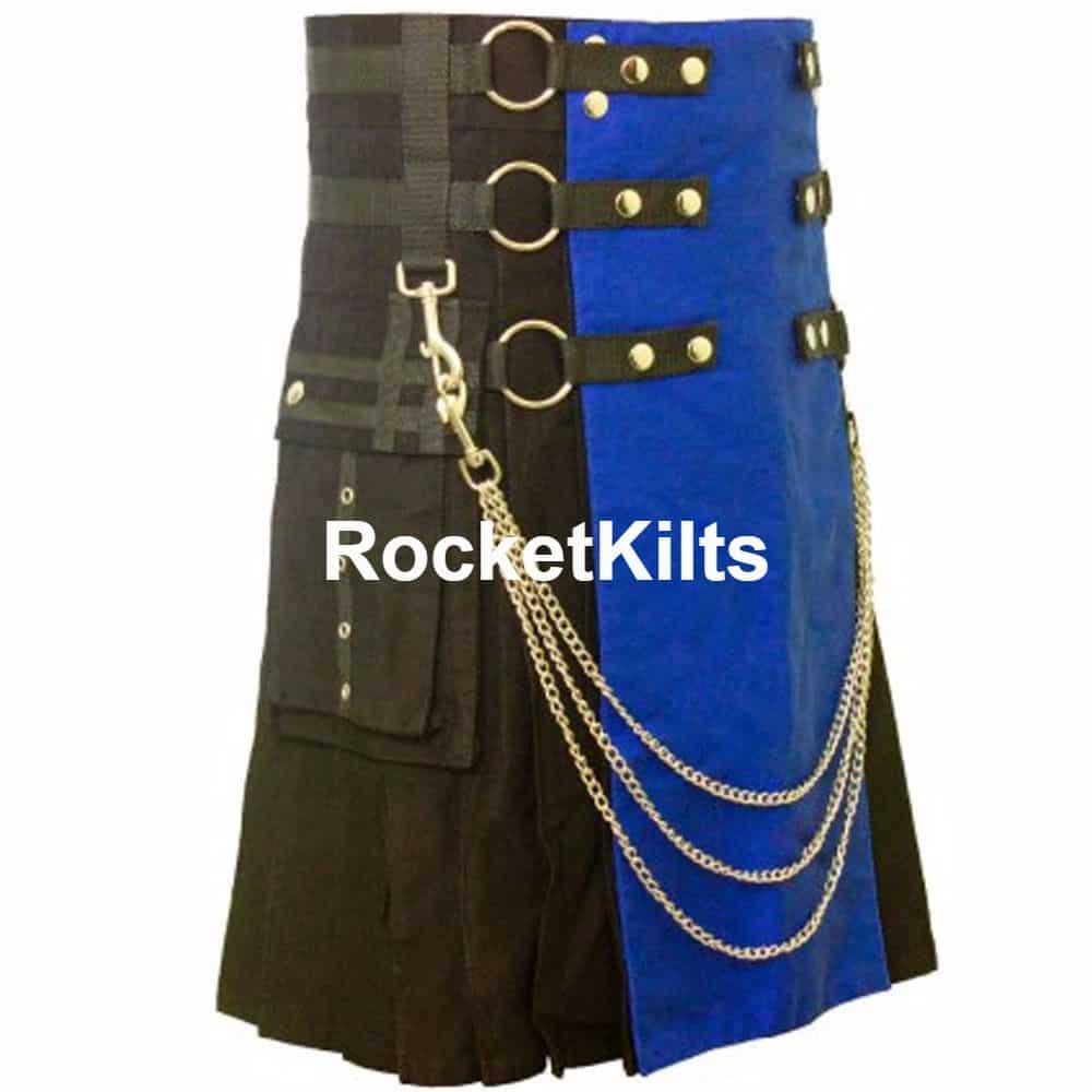 Black & Blue Kilt