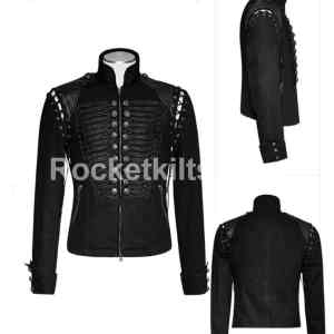 goth jacket mens,gothic military jacket,military goth clothing,gothic military jacket mens,gothic outerwear