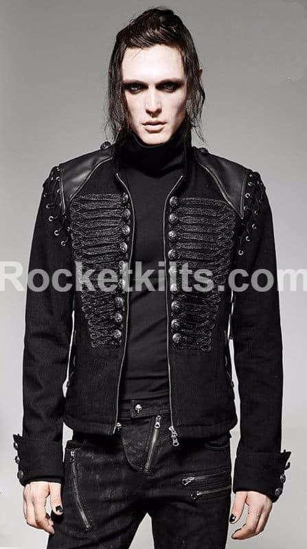 Gothic military coat