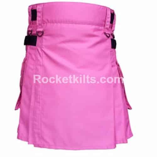 pink kilts,mens pink kilt,black and white kilt,modern kilts,blue kilt,pink tartan fabric,utility kilt, pink kilt, kilt sale, kilt nuy, kilt for sale