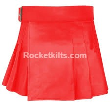 Women's Mini Kilt,womens mini kilt,ultra mini kilt,ladies leather kilt,leather kilt, red kilt,kilt for sale, great kilt,womens kilt