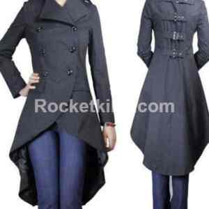 holden fishtail jacket women's,fishtail jacket,womens gothic trench coat,gothic coats and jackets