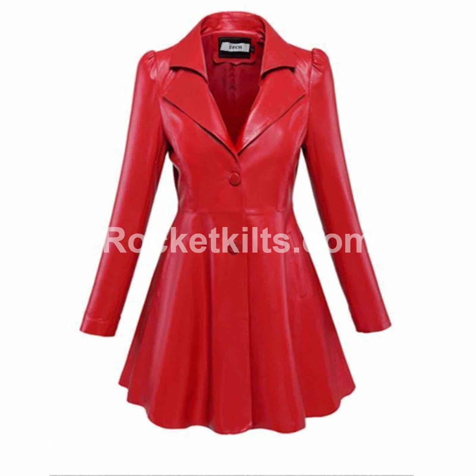 Lapel Collar Faux Leather Jacket Womens Blazer Sale 3fc4750fec01
