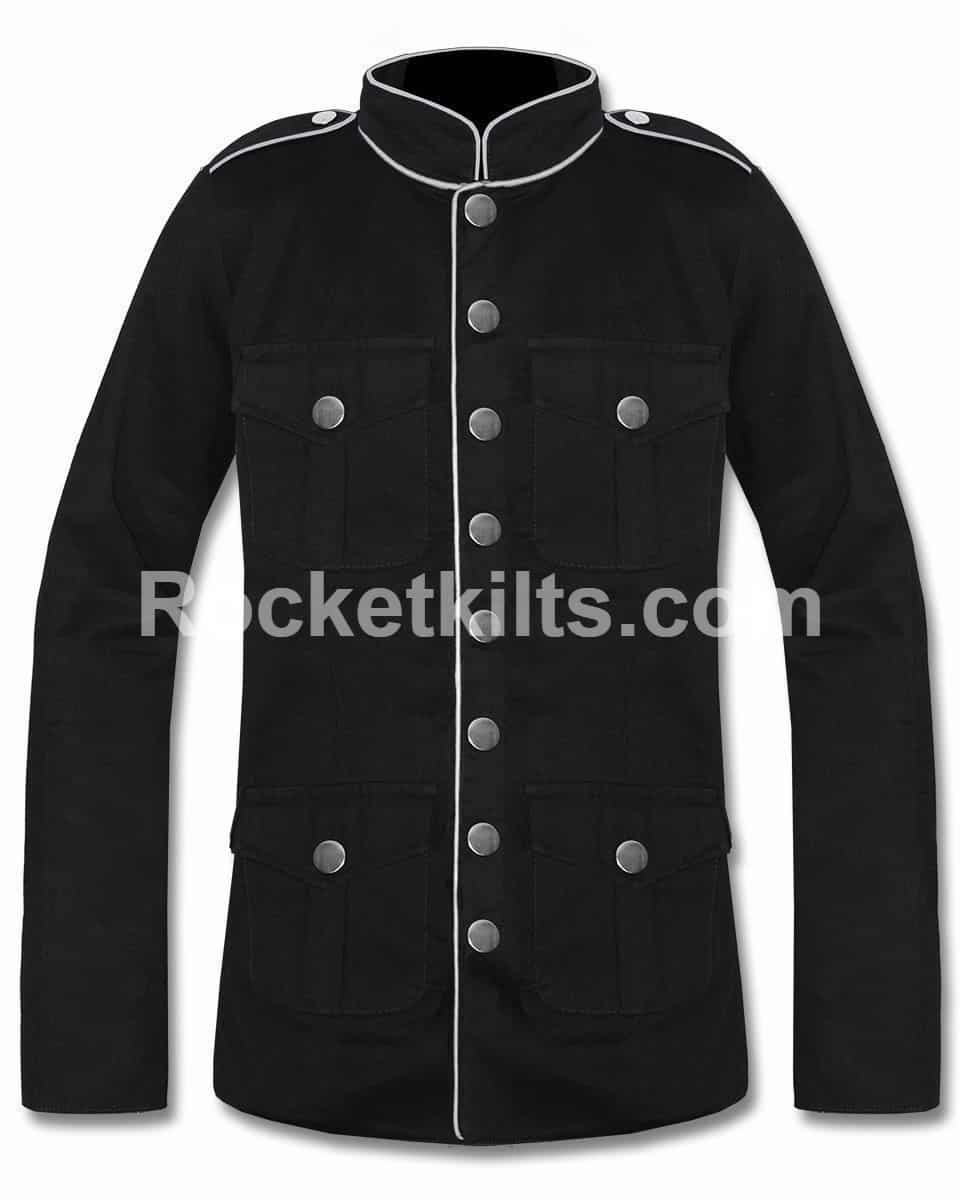 mens military style pea coat,mens military peacoat,sterlingwear peacoat