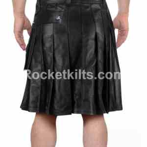 pleated leather kilt,men's leather gladiator kilt,black leatehr kilt,leatehr kilt, kilt for sale, kilt buy, great kilt