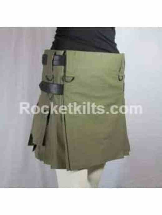 Olive Green Skirt