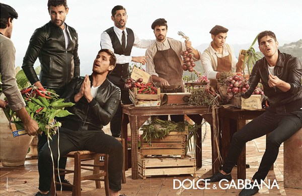 dolce & gabbana ss14 campaña