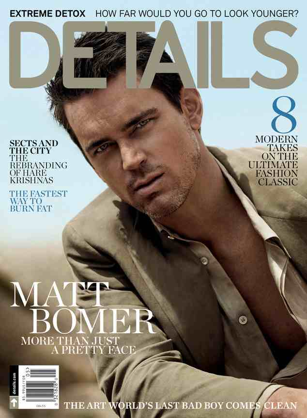 Matt Bommer Details Magazine May 2014