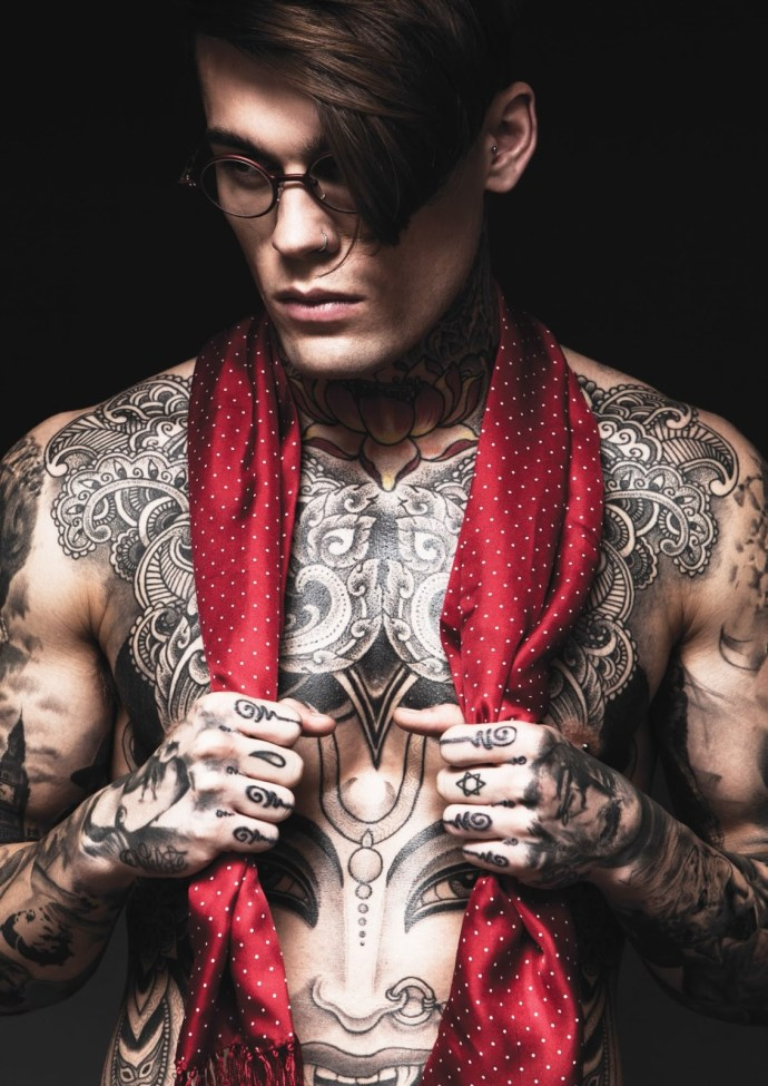 A Disrobed Stephen James by Darren Black | Hedonist 2