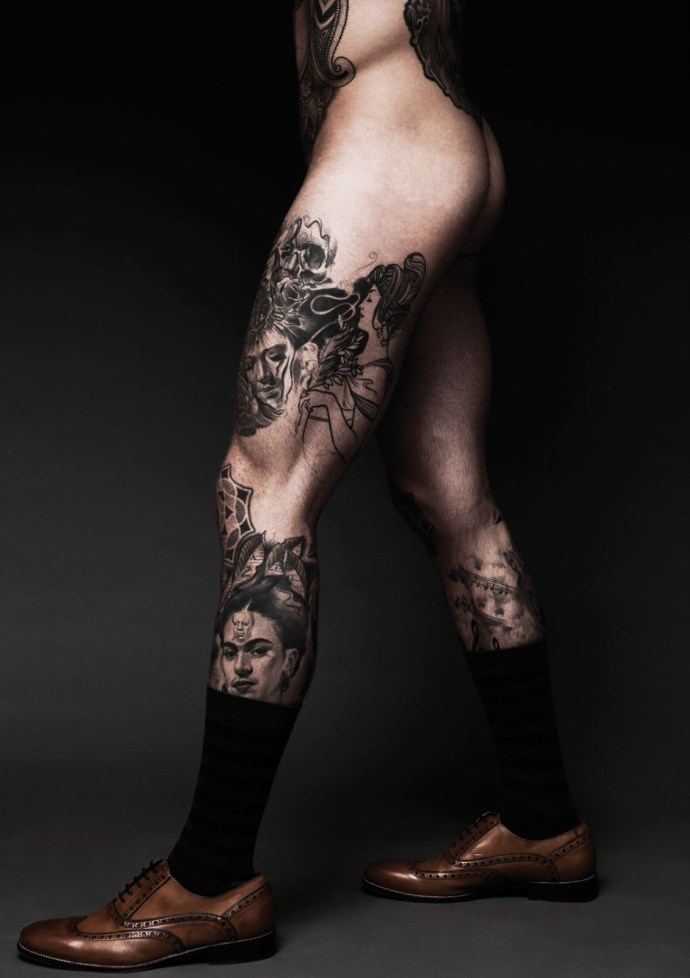 A Disrobed Stephen James by Darren Black | Hedonist 3