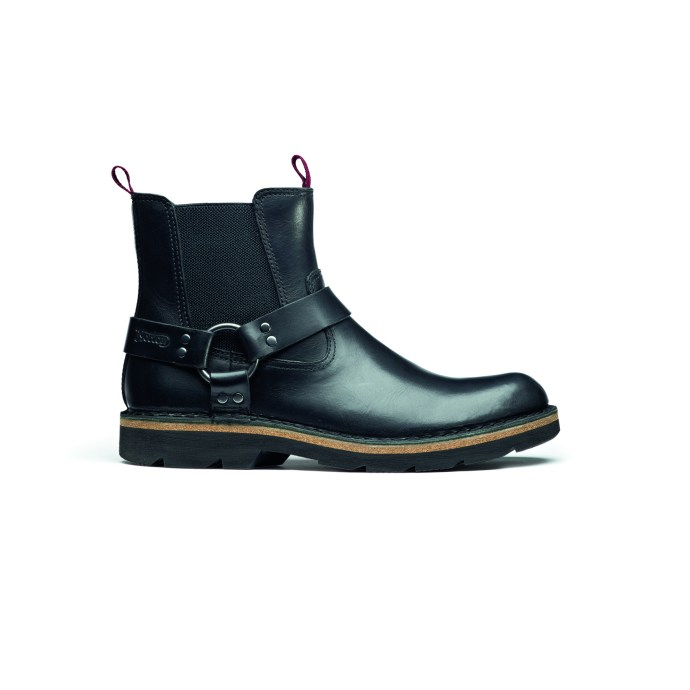 Mellor Top Black Leather