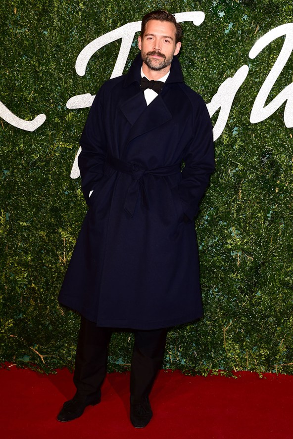 Patrick Grant British Fashion Awards 2014