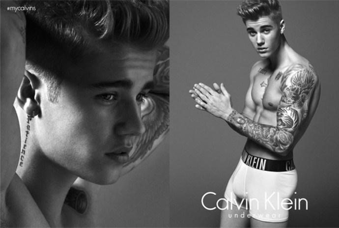 Calvin Klein Campaña 2015 Primavera Verano Justin Bieber 1
