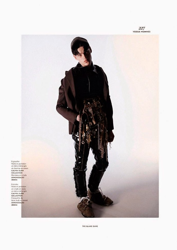 FILIP HRIVNAK PARA  VOGUE HOMMES INTERNATIONAL POR DAVID SIMS 5