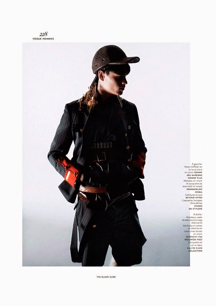 FILIP HRIVNAK PARA  VOGUE HOMMES INTERNATIONAL POR DAVID SIMS 8