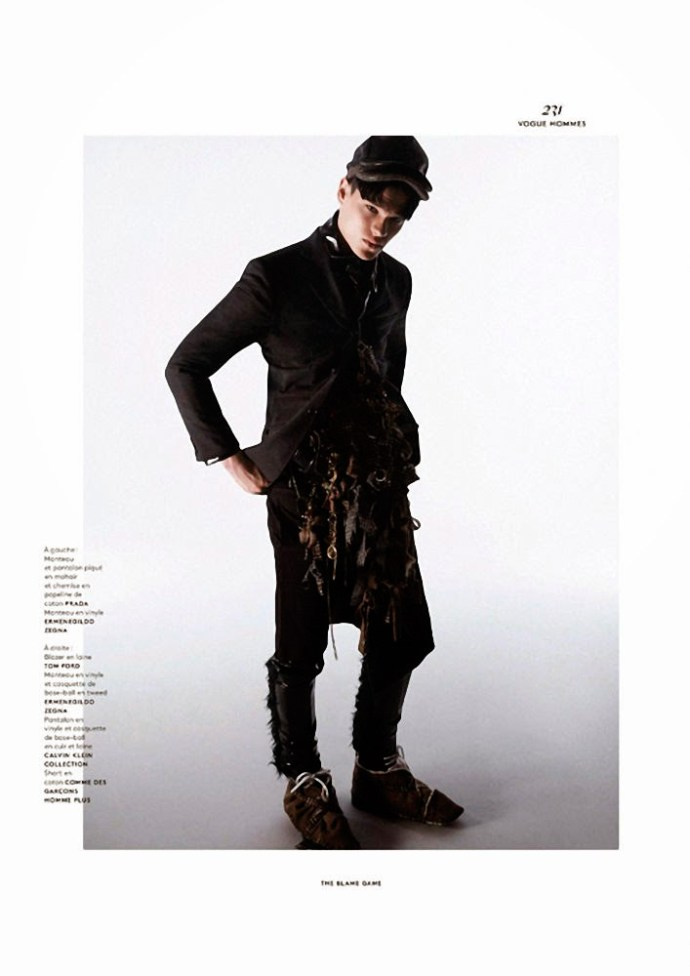 FILIP HRIVNAK PARA  VOGUE HOMMES INTERNATIONAL POR DAVID SIMS 9
