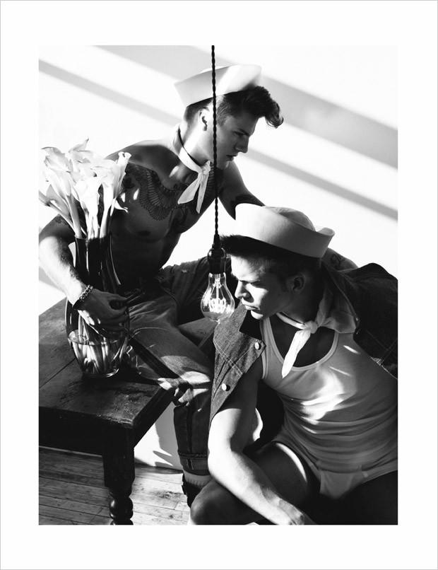 THE WILD ONES POR CHUANDO & FREY PARA  L'OFFICIEL HOMMES SINGAPUR 4