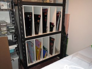 Shelving for Glass