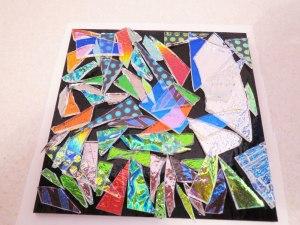 Fused Glass Dichroic Slab