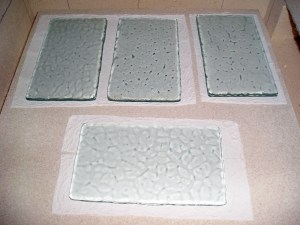 Fused Textured Float Glass