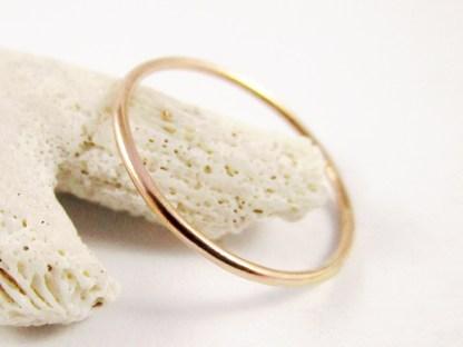 Rose Gold Filled Stacker Ring