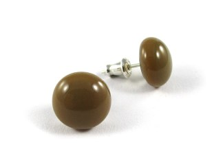 Caramel Stud Earrings