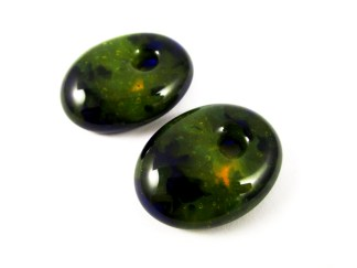 Green Earring Cabochons
