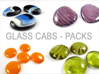 Glass Cabochons - Packs