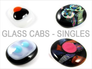 Glass Cabochons Singles