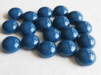 Steel Blue Cabochons