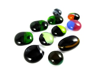 Fused Glass Cabochons