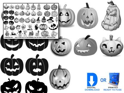 Pumpkins Decals