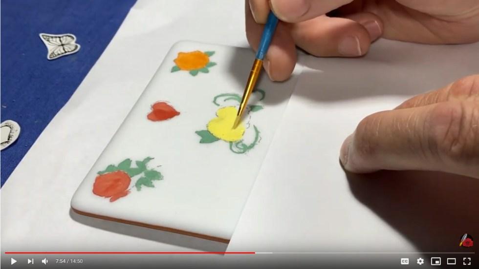 Glass Enamel Technique