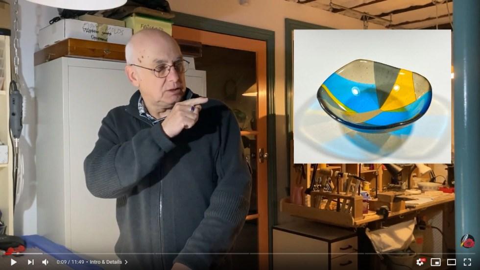 Fused Glass Segment Bowl Tutorial