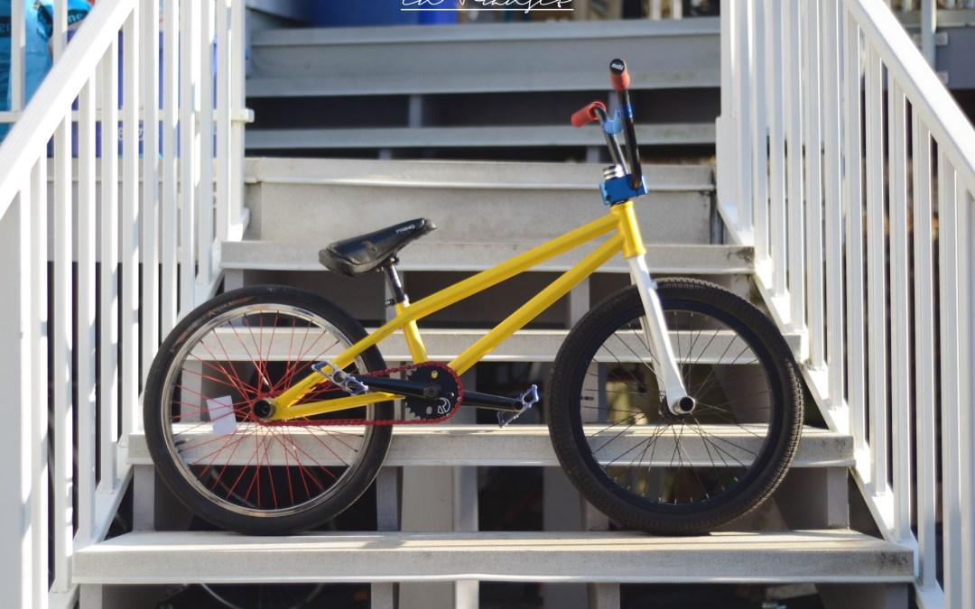 How to build a flatland BMX bike