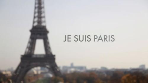 "the eiffel tower and ""je suis paris"""