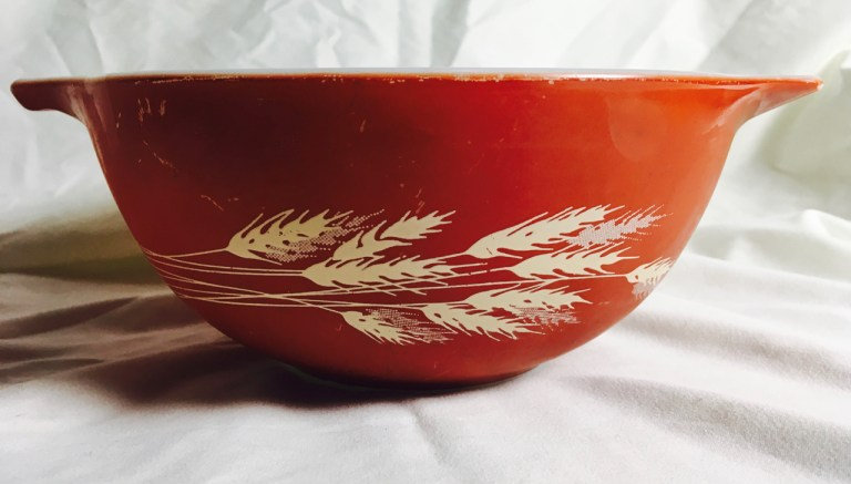 autumn harvest mixing bowl