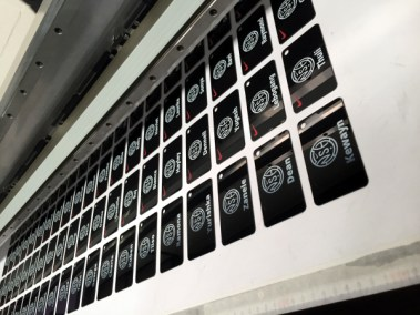 Nike Tags printing