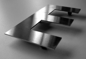 stainless-steel-letter-E