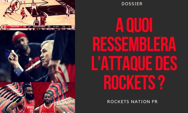 L'attaque des Rockets emmenée par le duo CP3-Harden