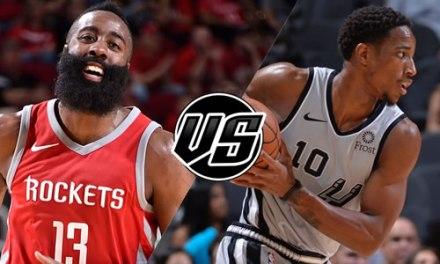 Prévision des potentiels match-ups : et si Houston tombait sur les Spurs au premier tour des playoffs ?