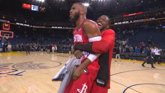 Review Warriors – Rockets : le Point God fait tomber les 5 All-Star de Golden State