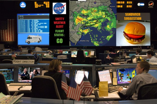 mission control shitty weather