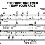 """Dieser Song: """"The First Time I Ever Saw Your Face"""""""